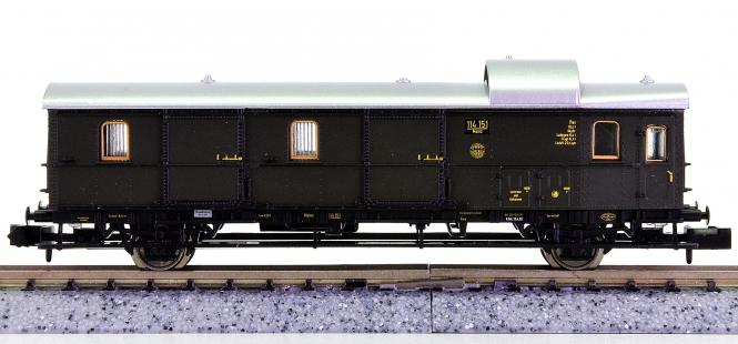 Trix 13745 (N) - Gepäckwagen (Einheitsbauart) der DRG