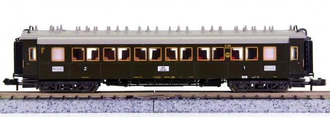 Trix 13187 (N) – Schnellzugwagen 1./2.Kl. der DRG