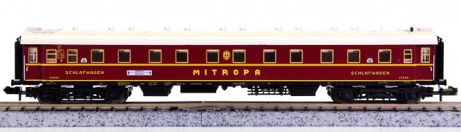 Trix 51 3153 00 (N) – Schnellzug-Schlafwagen der MITROPA