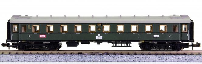 Trix 51 3151 00 (N) – 3. Klasse Schnellzugwagen der DRG