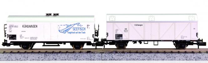 Arnold 4220K/Trix 13951 – 2-teiliges Kühlwagen-Set der DB
