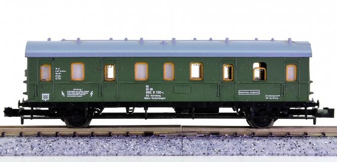 Trix 51 3061 00 (N) – Bauzug-Mannschaftswagen der DB