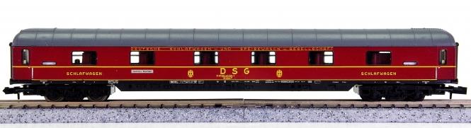 Trix 51 3085 00 (N) – 1./2. Klasse Schlafwagen der DSG