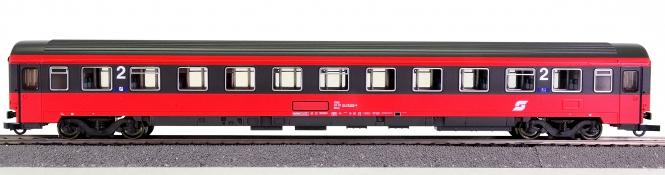 Roco 44666 – 2. Klasse Eurofima Schnellzug-Abteilwagen der ÖBB