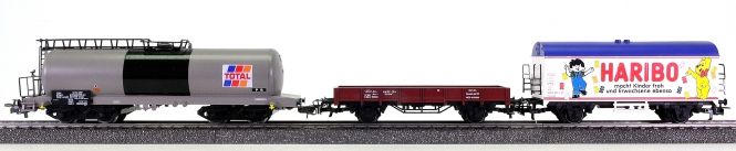 Märklin – 3-teiliges Güterwagen-Set der DB/SNCF