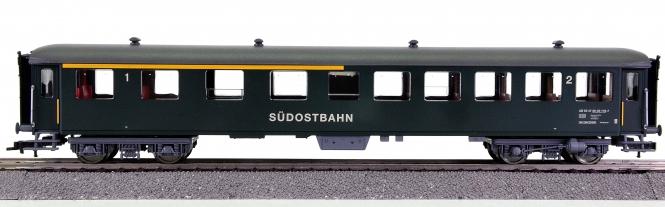 Fleischmann 5136 – 1./2. Klasse Schnellzugwagen der Südostbahn (SOB)