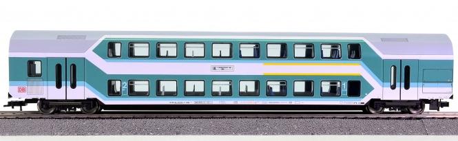 Fleischmann 5124 K – 1./2. Klasse Doppelstockwagens Görlitz DABz 756 der DB