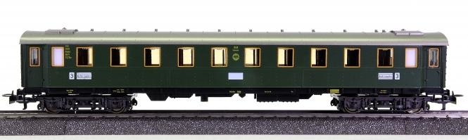 Märklin 4141 – 3. Klasse Schnellzugwagen C4ü der DRG