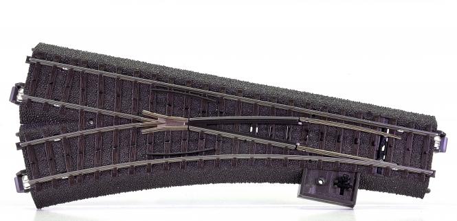 Märklin 24611 – C-Gleis Weiche links R2 = 437,5 mm / 24,3°