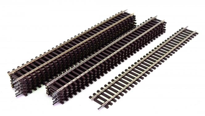 Roco 42410 – 12x Roco-Line gerade Gleise G1, Länge je Gleis 230 mm