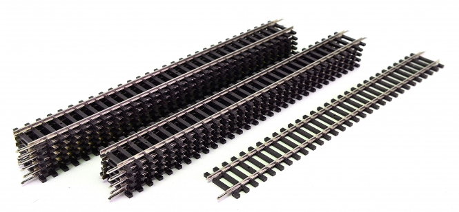 Piko 55201 – 12x gerade Gleise G239, Länge je 231 mm