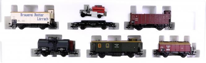 Märklin 45102 – 6-teiliges Güterwagen-Set Geislinger Steige