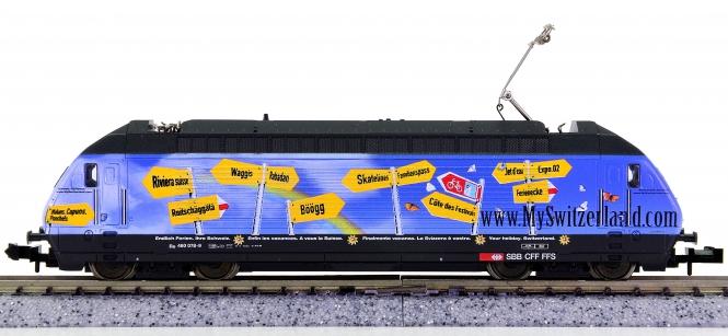 Trix 12782 (N) – Elektrolok BR Re 460 'MySwitzerland' der SBB, digital (DCC)