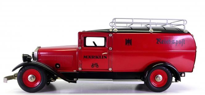 Märklin 1989 (1:16) – LKW Reichspostwagen, Metall-Modell