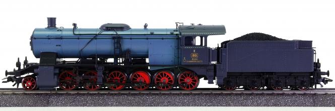 Märklin 37059 – Schlepptender-Dampflok Klasse K der K.W.St.E., digital (MM)