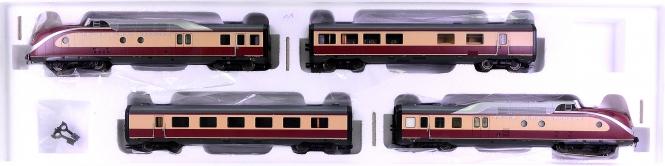 Märklin 37605 – 4-tlg. TEE-Diesel-Schnelltriebzug BR VT 11.5 der DB, digital