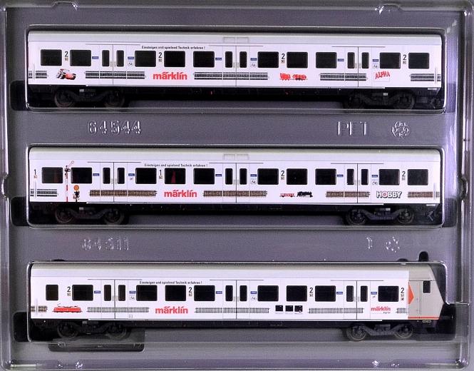 Märklin 4390 – 3-tlg. S-Bahn-Wagen-Set der DB AG