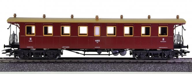 Märklin 4211 – Schnellzugwagen 3.Kl. BCCi der K.W.St.E.