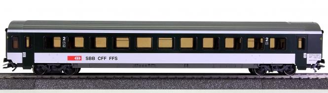 Märklin 42162 – 2. Klasse Schnellzugwagen (Einheits-/Wendezugwagen) der SBB