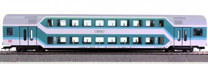 Fleischmann 5122 K – 2. Klasse Doppelstockwagen der DB AG