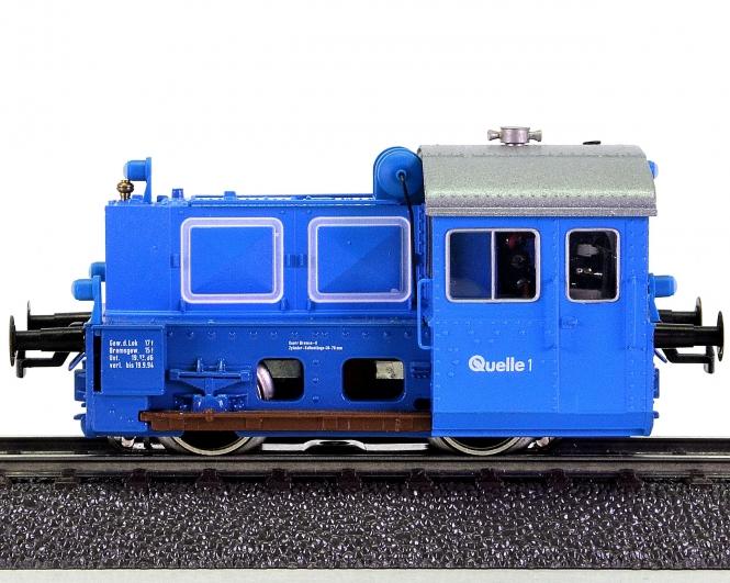 Brawa 0463 (AC) – Rangier-Diesellok BR Köf II der Quelle AG