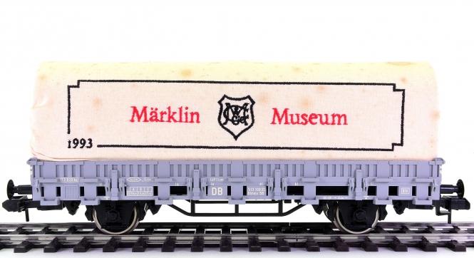Märklin 85830 (Spur 1) – Planenwagen Rlmms 58 als Märklin-Museumswagen 1993