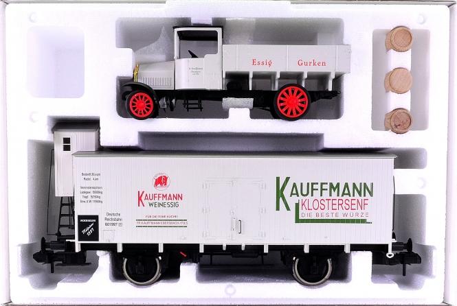 Märklin 58311 (Spur 1) – Kühlwagen Fa. Kaufmann als Märklin-Museumswagen 1997