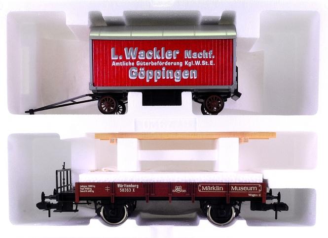 Märklin 58363 (Spur 1) – Güterwagen mit Möbelwagen als Märklin-Museumswagen 1998