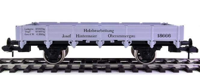Märklin 5480 (Spur 1) – Niederbordwagen der K.W.Sts.E., aus Maxi-Programm