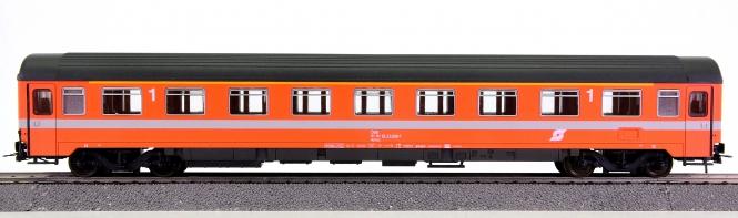 Roco 4236A – 1. Klasse Eurofima-Schnellzug-Abteilwagen der ÖBB