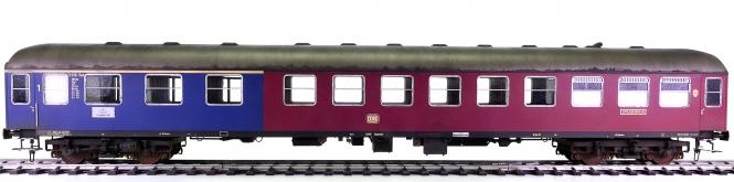 Märklin 58041 (Spur 1) – Halbspeisewagen Kakadu der DB, patiniert + Innenbeleuchtung