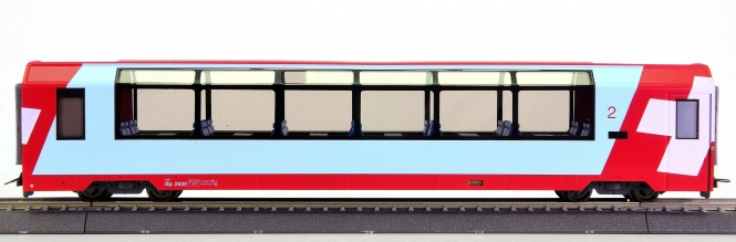 Bemo 3289 122 (H0m) – 2. Kl. Panoramawagen Glacier-Express der RhB