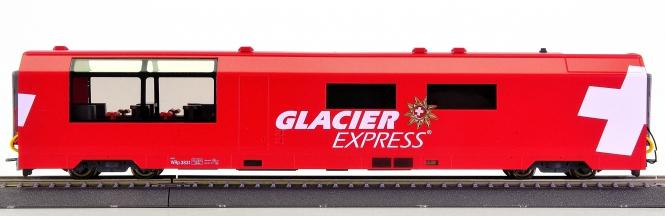 Bemo 3289 131 (H0m) – Servicewagen Glacier-Express der RhB