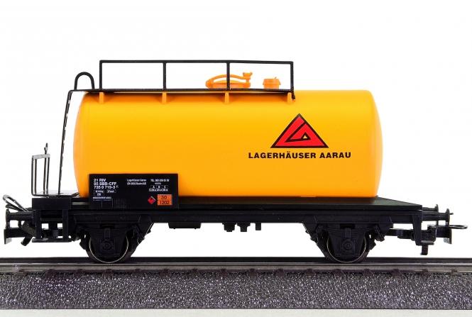 Märklin 4441.916 – Kesselwagen Lagerhäuser Aargau der SBB