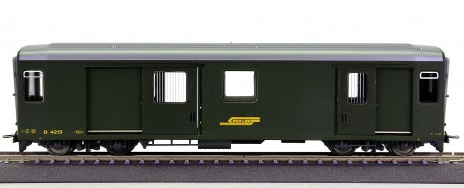Bemo 3269 103 (H0m) – Gepäckwagen D der RhB