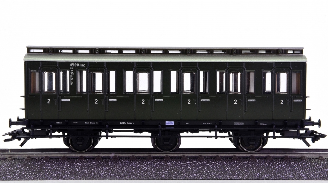 Märklin 4202 – 2. Klasse Abteilwagen B3 der DB