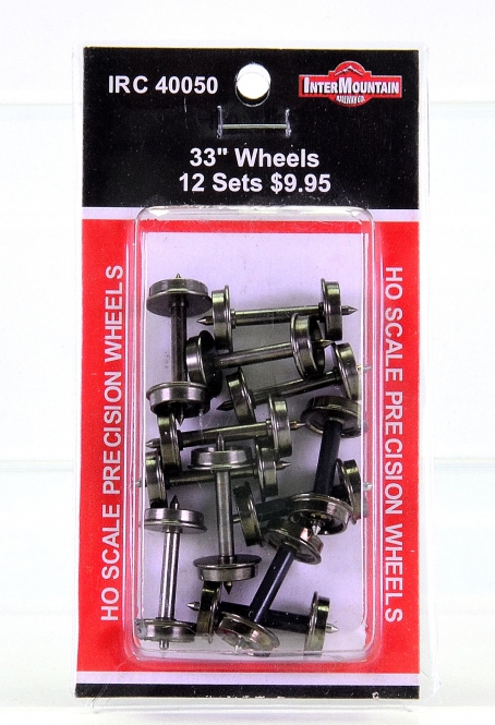 InterMountain IRC 40050 – 12x Insulated Wheelsets 33 inch