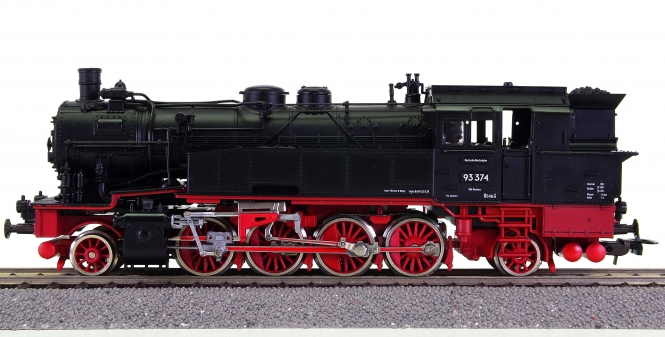 Roco 04122A – Tender-Dampflok BR 93 (preuß. T14) der DRG
