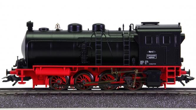 Märklin 37250 – Dampfspeicher-Lok (Werkslok), digital (MM)