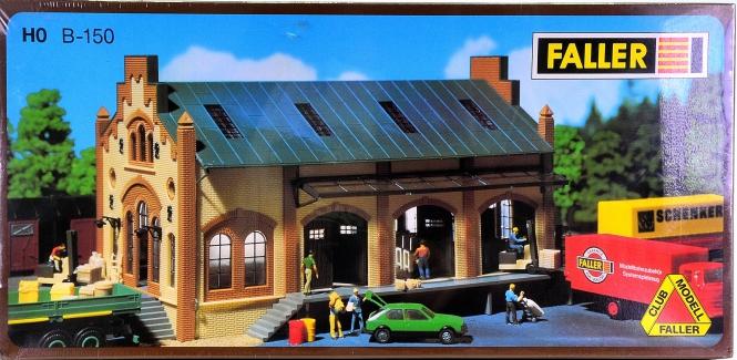 Faller B-150 (H0) – Bausatz Güterhalle