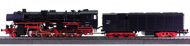 Märklin 37171 – Güterzug-Schlepptender-Dampflok BR 52 der DB, digital (MM)