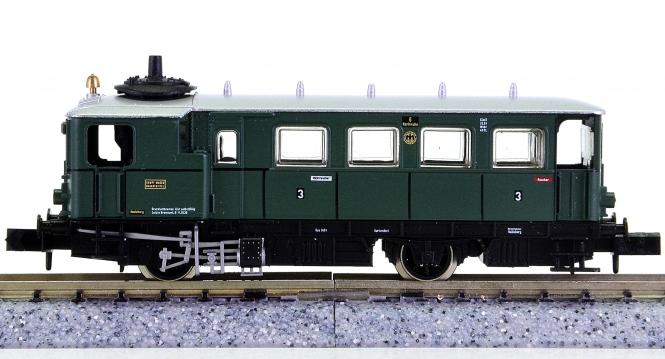 Arnold 2923 – Dampftriebwagen Bauart Kittel der DRG, Innenbeleuchtung