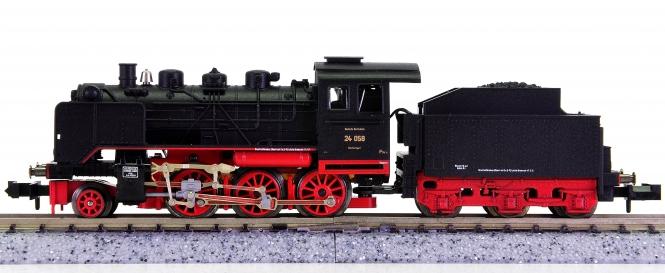Minitrix 12027 – Schlepptender-Dampflok BR 24 der DRG