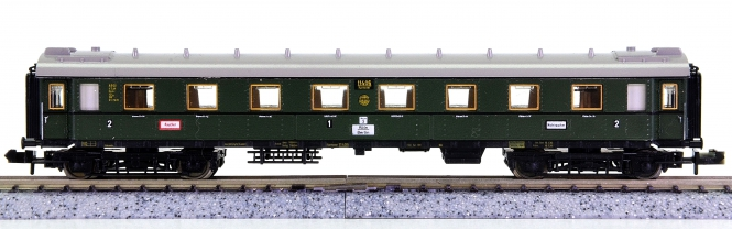 Minitrix 51 3170 00 – Schnellzug-Wagen 1./2.Kl. der DRG, Innenbeleuchtung