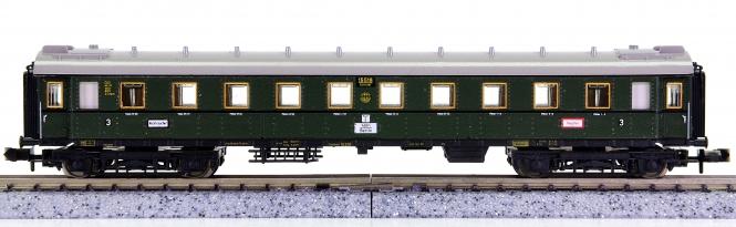 Minitrix 51 3171 00 – Schnellzug-Wagen 3.Kl. der DRG, Innenbeleuchtung