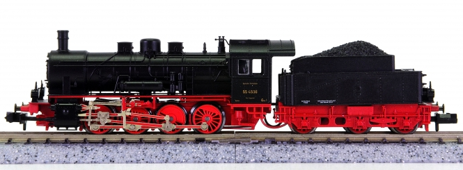 Fleischmann 7154 (N) - Schlepptender-Dampflok BR 55 der DRG
