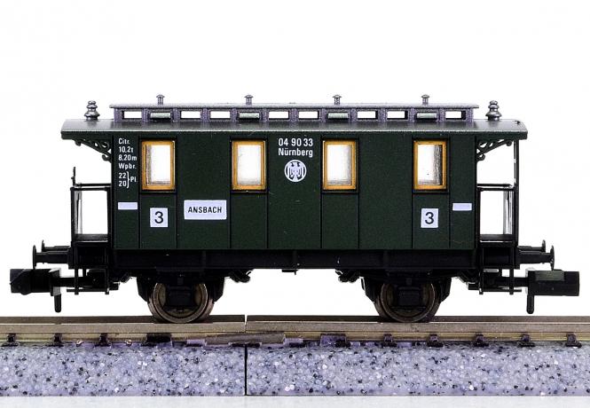Fleischmann 8051 K (N) - Personenwagen 3.Kl. der DRG