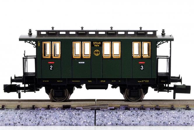 Fleischmann 8058 K (N) - Personenwagen 2./3.Kl. der DRG
