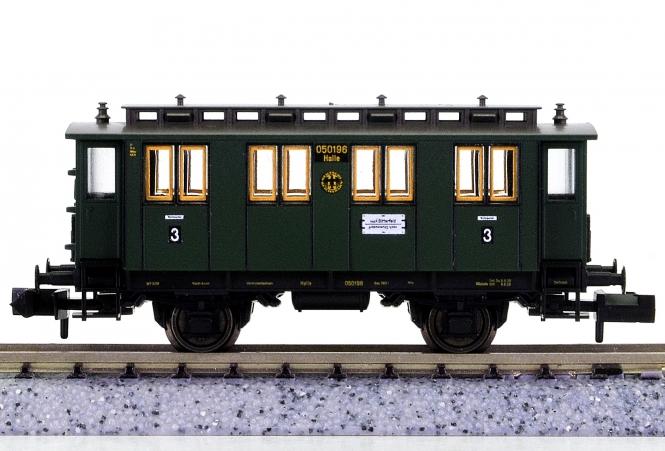Fleischmann 8059 K (N) - Personenwagen 3.Kl. der DRG