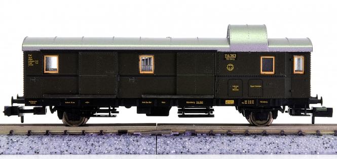 Fleischmann 8660 K (N) - Gepäckwagen (Donnerbüchse) der DRG